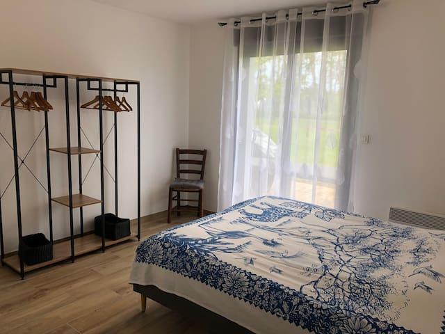 Chambre 1, lit 160