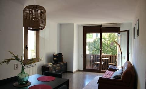 Apartamento acogedor y luminoso en Organyà
