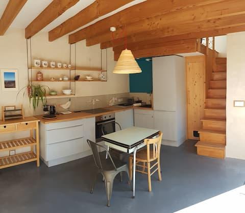 Petite maison écologique au cœur de Belledonne