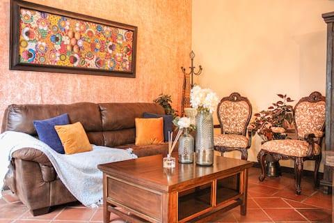 Captivating Colonial Villa with unique amenities.
