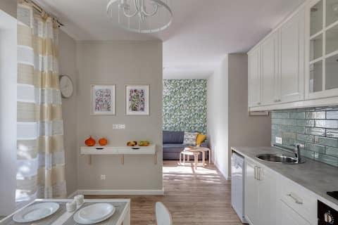 Квартира с видом на сосны
