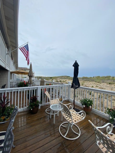 Direct Ocean Front Townhouse with Two Large Decks