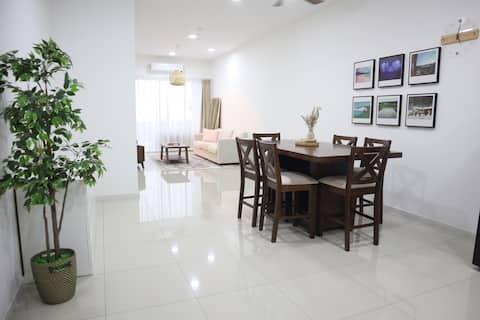 Sunset Ark Condo for 7 pax Taiping