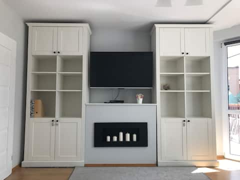 Spacious apartment for family with children