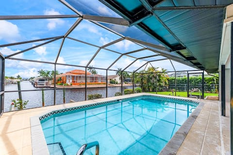 Vacation Home with Gulf Access and Pool 825