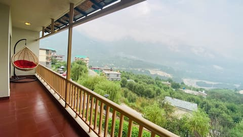 Mountain View 2BHK Abode with Apple Orchards