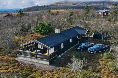 Koselig hytte med 3 soverom på Venabygdsfjellet