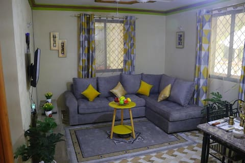 Stylish Luxe Apt Minutes away from Nyali Beach