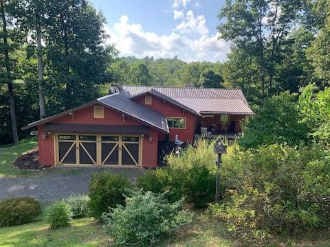 Serenity Mountain Manor on 7 acres