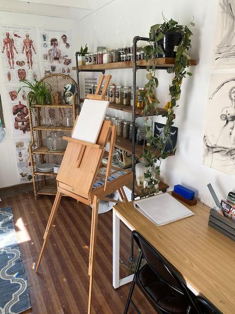 Adorable Art Studio -> Ntnl Forest+ Hatcher Lake