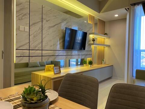 2 bedroom + kitchen Belleview Manyar Apartment