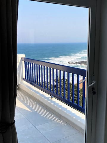3rd Bedroom private balcony and views