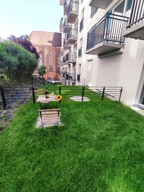 River House - apartment studio with garden