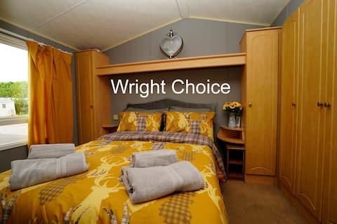 Wright Choice modern caravan Home from Home.