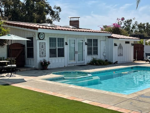Winery Bed & Breakfast Cottage with Pool!
