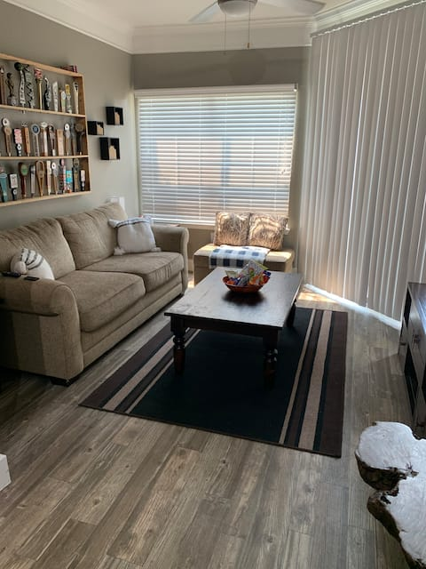 Comfortable  and clean apartment on first floor!