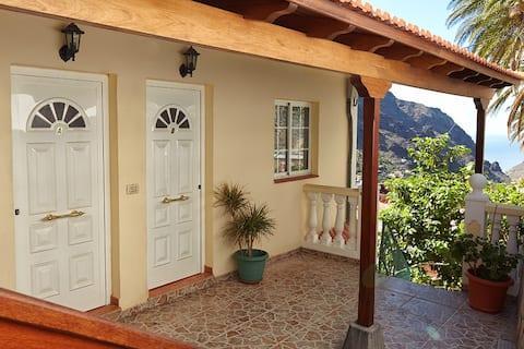 Apartamento de 1 dormitorio con hermosas vistas al valle