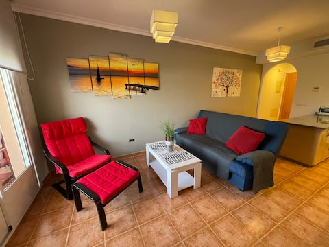 Precioso apartamento frente al Pantano de Orellana