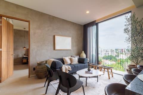 Hermoso apartamento - Providencia, Excelente vista