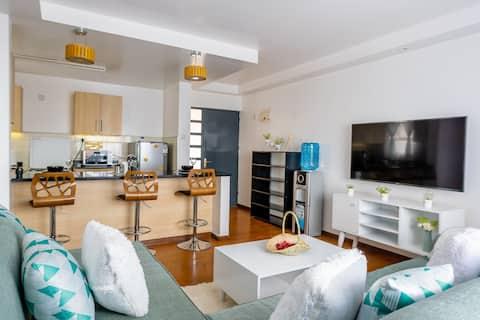 Nyumba Zetu. 1 slaapkamer gelegen in Ruaka Nairobi.