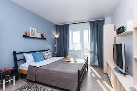 Новая квартира у Енисея