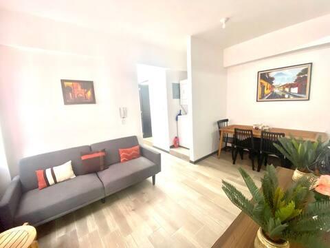 Apartamento acogedor con todo lo necesario
