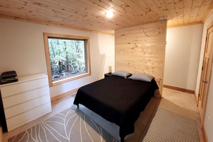 Sleep soundly in our spacious lower bedroom with walk-in, wrap around closet