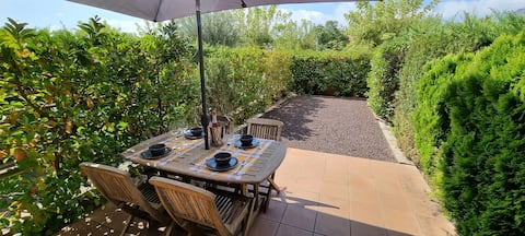 Apartamento en berguedà, con jardin y chimenea