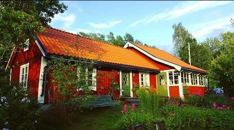 19e eeuws huisje - volledig uitgerust en  sauna