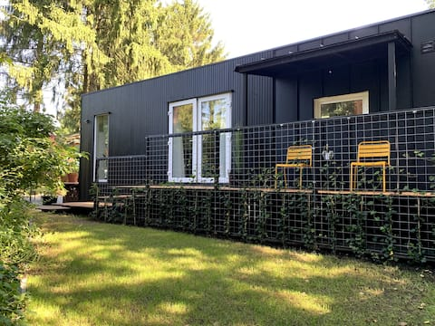 Black Cabin op de Veluwe