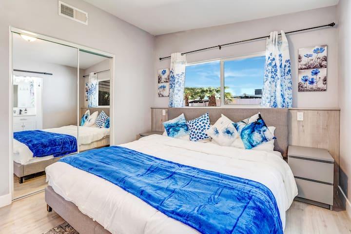 Master Bedroom - King Bed + Attached Bathroom