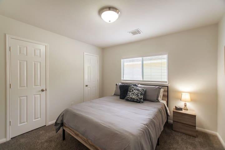 Queen bedroom upstairs