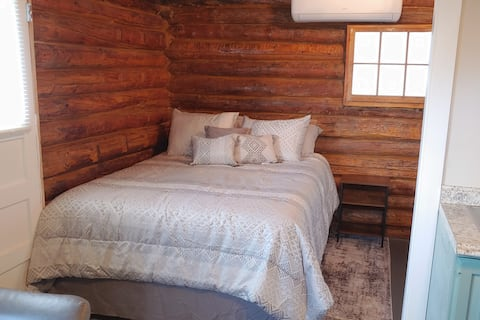 Rustic Log Cabin in the City