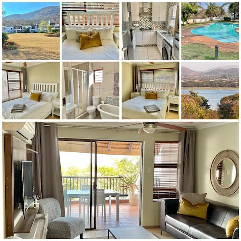Lovely self-catering unit with dam views -Haarties