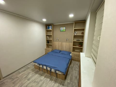 Cozy quiet apartment for one or two persons