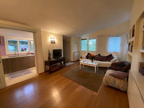 Apartmán obklopený zeleňou Sassari