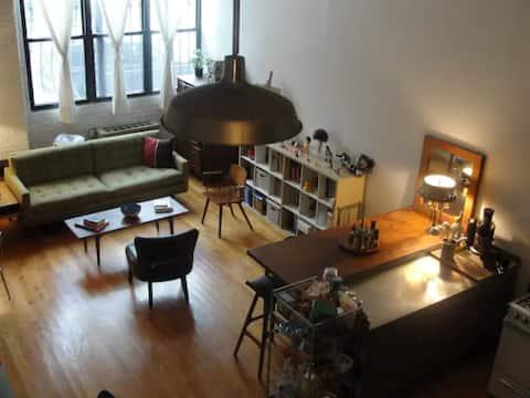 Lovely 1-bedroom loft in Brooklyn
