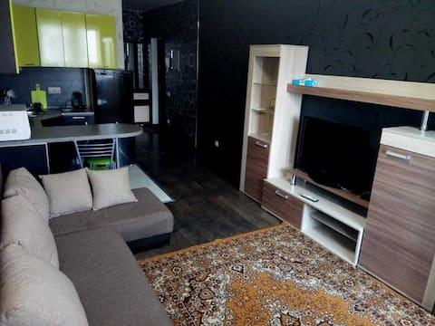 Уютная квартира-студия для работы и отдыха