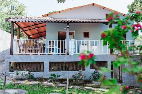 Complete house with backyard near Pecado beach