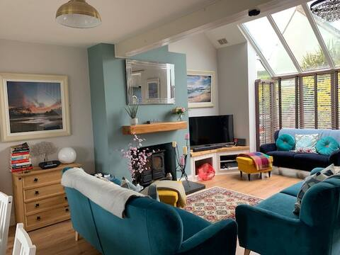 Gorgeous house, with sea views, in Dunfanaghy