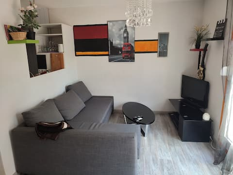 Appartement T2 34 M2 avec jardin et loggia