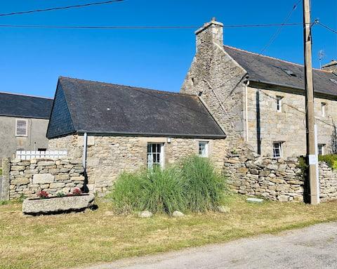 Maison typique bretonne au Pays des Abers