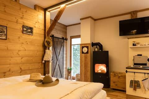Gästehaus Weideblick mit Kamin und  Sauna