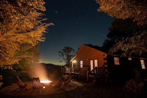 Fireside Mountain Views | Newly Renovated