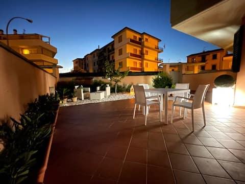 The Loft E&E appartamento in città con giardino