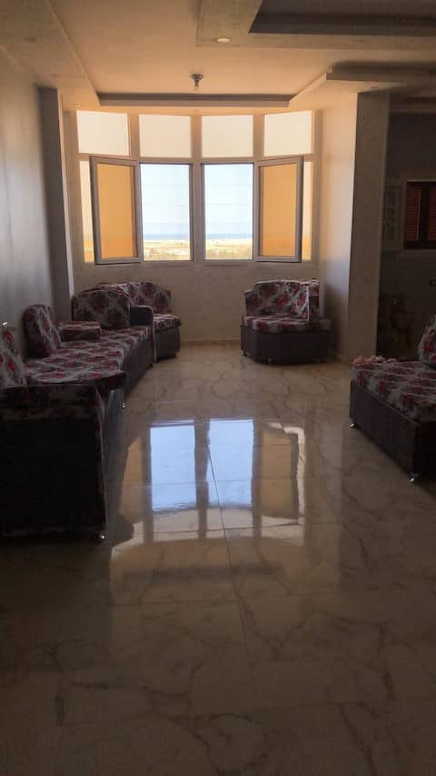 Lovely apartment seeing the beach in Damietta city