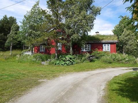 Sjarmerende hytte med sjel rett ved Aursunden