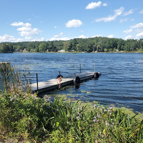 Cheerful 2 bedroom cottage on a beautiful lake!