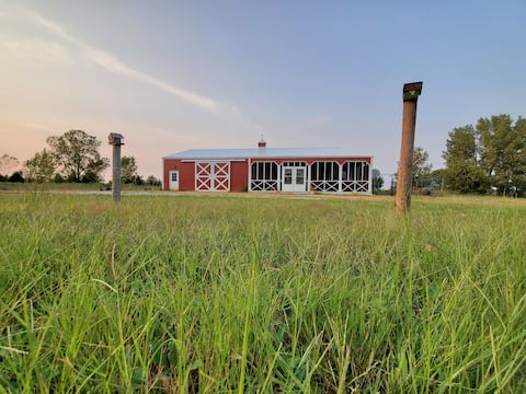 Experience the Prairie at a Bison Ranch