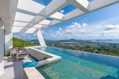 Luxury 3bed pool villa with amazing panoramic view